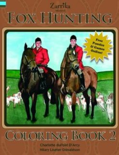 Fox Hunting Coloring Book Sports & Outdoors