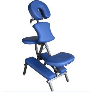 Portable Massage Folding Blue Chair