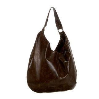 Hobo International Gabor Mocha Leather Hobo Bag