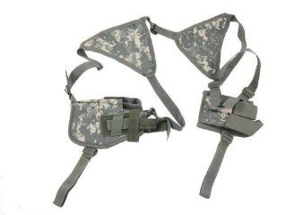 Voodoo Tactical Shoulder Holster With Double Magazine