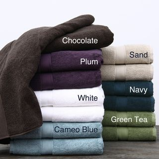 Supreme 800 gram Egyptian Two Ply Cotton/Terry Towels 6 piece Set