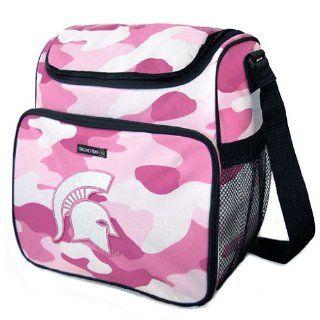 MSU Michigan State University Spartans Pink Camo Diaper