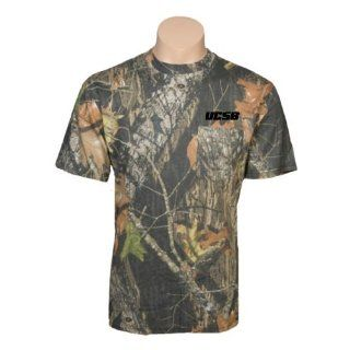 UC Santa Barbara Red Head/Mossy Oak Camo T Shirt XXXLarge
