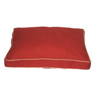 Carolina Pet Classic Jamison Red Twill Pet Bed