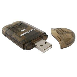 BasAcc USB 2.0 SDHC/ SD/ MMC Memory Card Reader Adapter