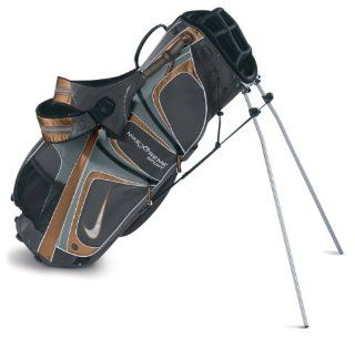 Nike Xtreme Sport ll ORANGE/GRAY Carry Stand Golf Bag