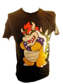 Super Mario Brothers (Bros) Mens T Shirt   Bowser Means