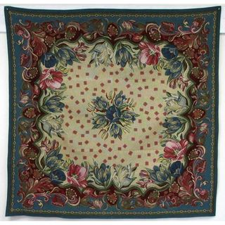 French woven 60 inch Heavyweight Square Table Cover