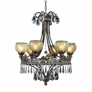 Triarch International LeGrandeur 6 light English Bronze Chandelier