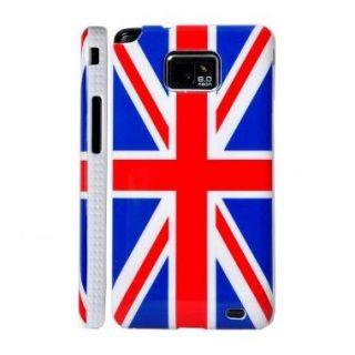 HOUSSE COQUE TELEPHONE Coque Samsung Galaxy S2 i9100 motif drapeau Ang