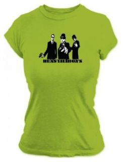 Beastie Boys   Cut Out Womens T Shirt in Palm, Size X