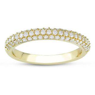 14k Yellow Gold 1/2ct TDW Diamond Ring (G H, I1 I2)