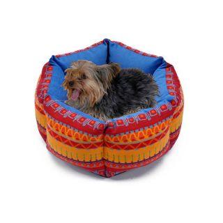 Aztec Red Pet Bed
