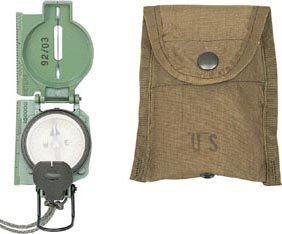 Olive Drab Cammenga Genuine Military Lensatic