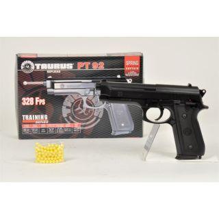 Cybergun   Pistolet à billes Taurus PT92 Spring   Energie0,6 joules