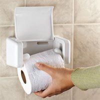 EZ Load Toilet Paper Holder