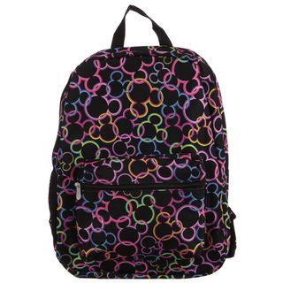 Disney Mickey Mouse All Over Print 16 inch Backpack