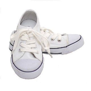 New Easy USA Little Girls Shoes White Sneakers Size 3 Easy USA Shoes