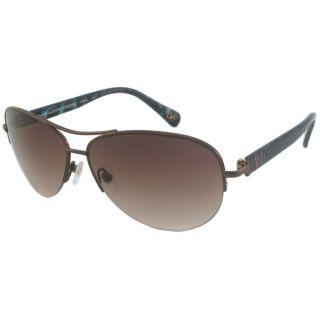 Diane Von Furstenberg Womens DVF804S Aviator Sunglasses