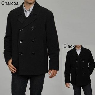 Kenneth Cole Reaction Mens Wool Blend Peacoat FINAL SALE