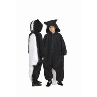 Skunk Funsies Child Costume Size 4 6 Small Clothing