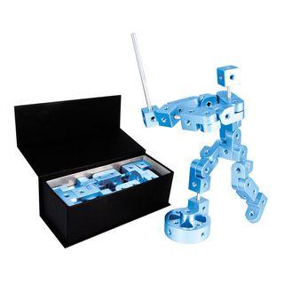 Playable Metal Pose Model P Blue Figure
