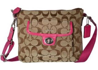 Signature Swingpack Crossbody Messenger Bag Purse 45026 Pink Shoes