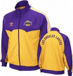 Los Angeles Lakers Adidas Originals Round Off Track Jacket