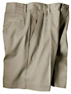 Dickies Womens Pleated Front Short, Size 4, Color Black