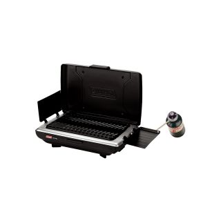 Coleman Embossed steel Propane Camp Grill with Porcelain coated Grate