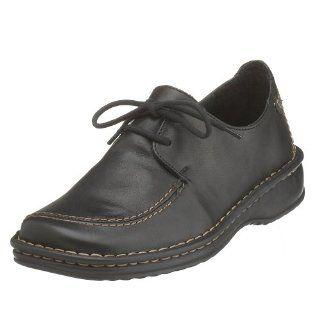 Josef Seibel Womens Vienna Oxford, Black, 36 Shoes