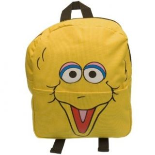 Sesame Street   Big Bird Face Mini Backpack Clothing