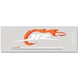 Nascar Jr Motorsports 2x6 Clear Die Cut Decal Sports