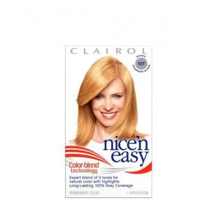 Clairol Nice N Easy Colorblend #107 Strawberry Blonde Hair Color