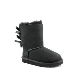 Ugg Australia Girls Bailey Bow Regular Suede Boots