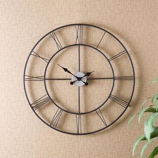 Hartley Black Wall Clock