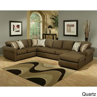 Keaton Chenille Eco Friendly Sectional Sofa