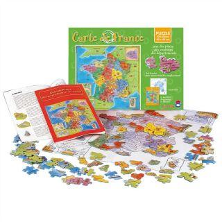 Puzzle Carte de France   Achat / Vente PUZZLE Puzzle Carte de France