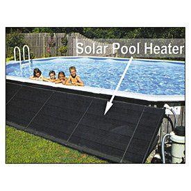 SmartPool SunHeater Solar Heating System for Aboveground