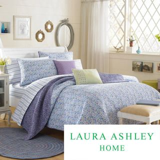 Laura Ashley Marabel Full/Queen size Quilt Set