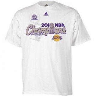 adidas Los Angeles Lakers 2010 NBA Champs Locker Room T