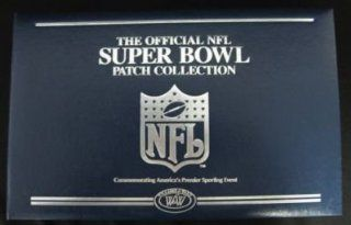 The Official NFL Super Bowl Patch Collection 1 35 Sports