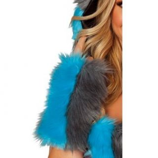 Chester Cheshire Cat Fur Arm Warmers Clothing