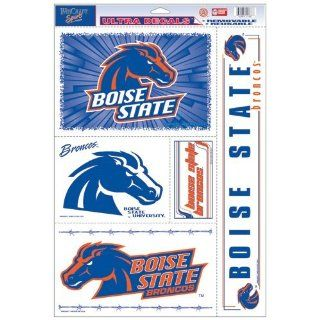 Boise State Broncos Decal Sheet Car Window Stickers Cling