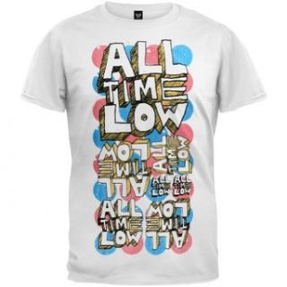 All Time Low   Circles Soft T Shirt   X Large Clothing