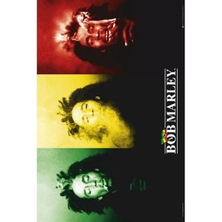 Poster BOB MARLEY flag (Maxi 61 x 91.5cm)   Achat / Vente TABLEAU