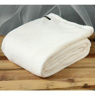 Polo Association Vanilla Microplush Twin size All Season Blanket