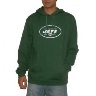 NFL New York Jets Mens Athletic Warm Pullover Hoodie