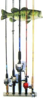 Bass Fishing Rod Rack Sports & Outdoors