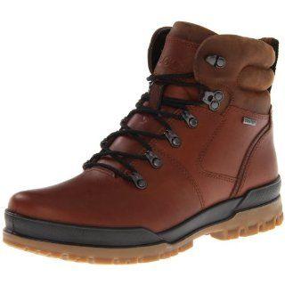 ECCO Mens Track II Mid Gore Tex Boot Shoes